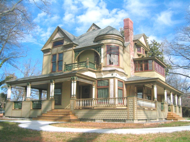 Historic House Colors Victorian Queen Anne Hickory