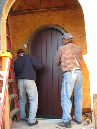New Tudor door