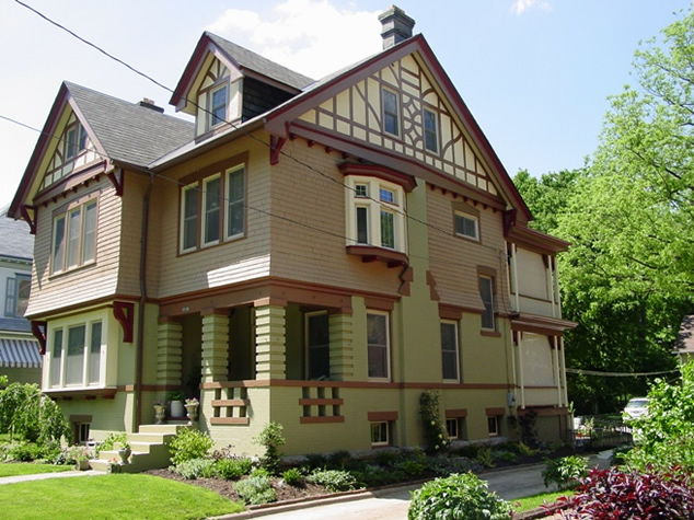 Historic house colors english revival reborn historic - Tudor revival exterior paint colors ...