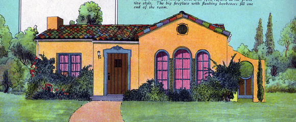 Spanish revival architecture and design on pinterest for Spanish colonial exterior paint colors