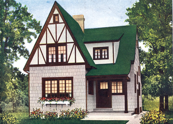 English Tudor Revival Colors