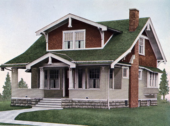 Homes from the 1920 s house plans floor plans for 1920 bungalow house plans